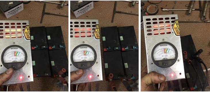 Cách đo bình ắc quy xe điện
