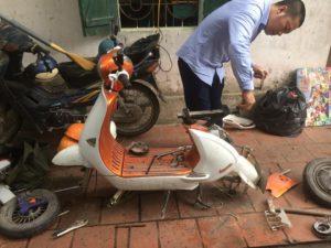 sửa xe đạp điện tại hà nội