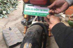 quy trình sửa xe đạp điện tại nhà