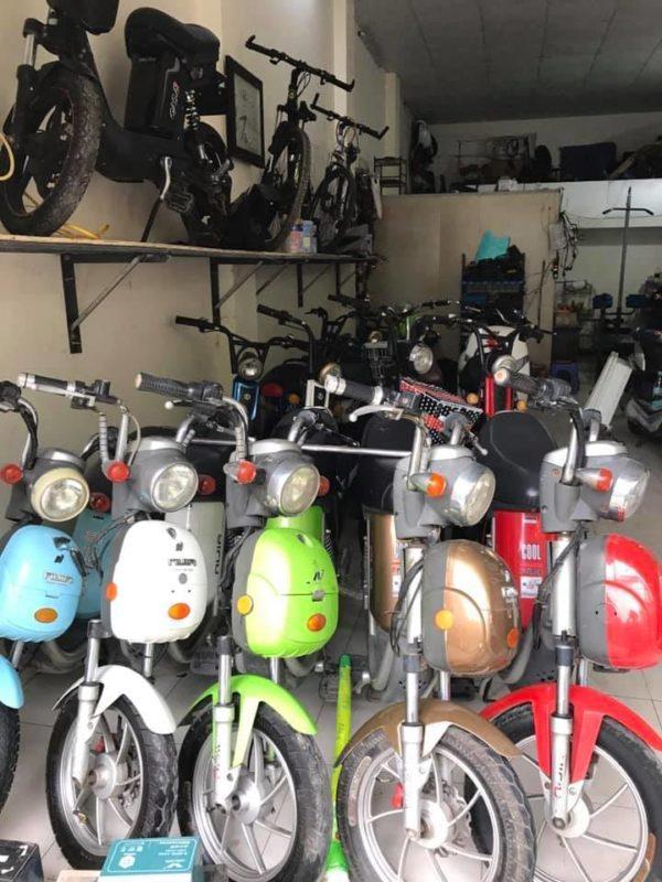 xe đạp điện cũ ở vĩnh yên