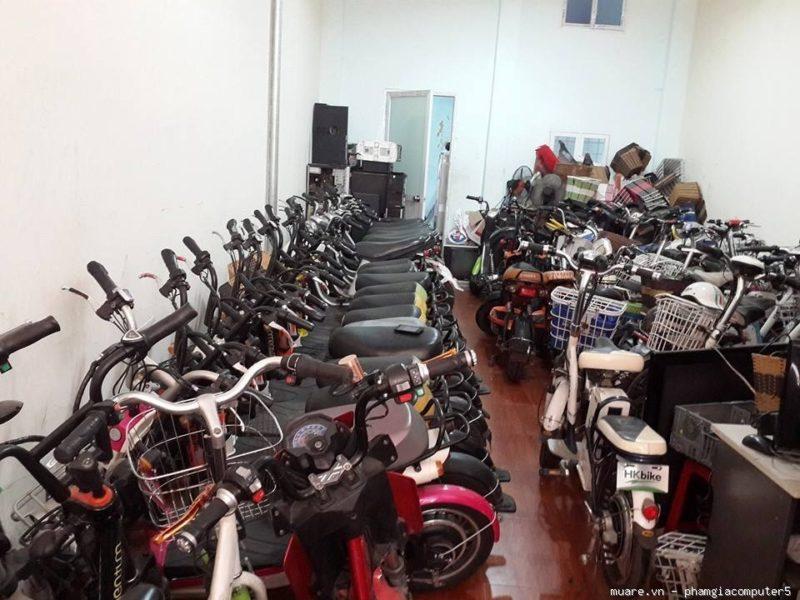 Cửa hàng xe đạp điện cũ ở Hà Nội