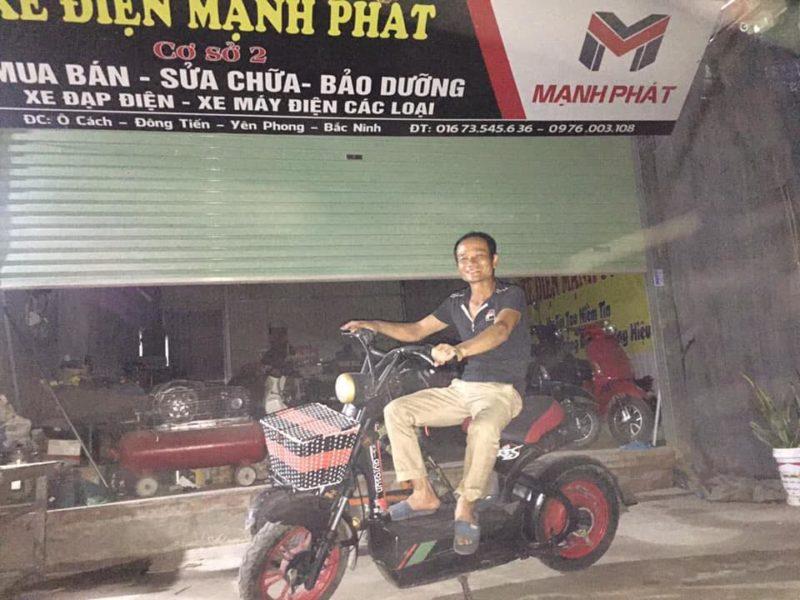 Mua bán xe đạp điện cũ ở Bắc Ninh