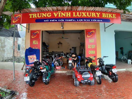Chi nhánh xe đạp điện cũ ở Thanh Hóa