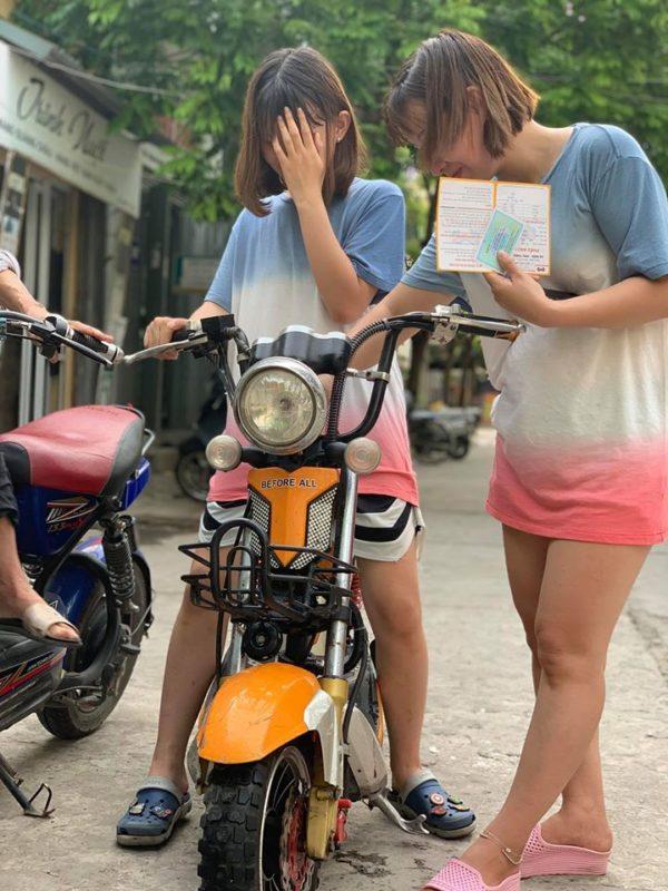 Xe đạp điện cũ trả góp