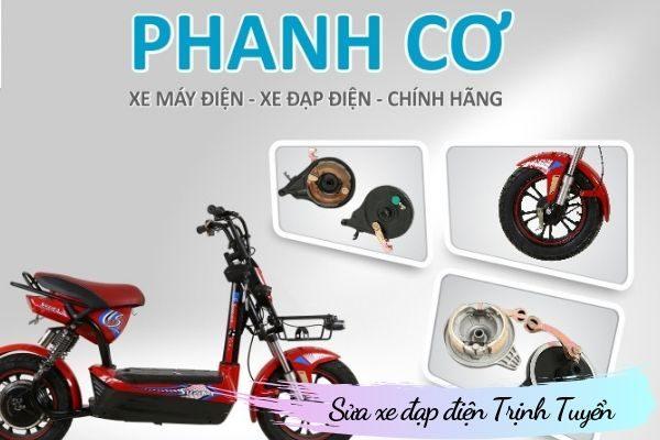 Phanh cơ xe đạp điện