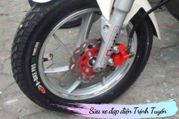 Phanh dầu xe đạp điện
