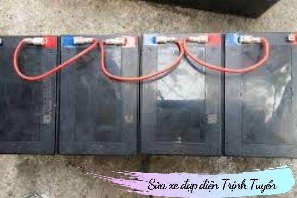 Cách đấu nối bình ắc quy xe đạp điện