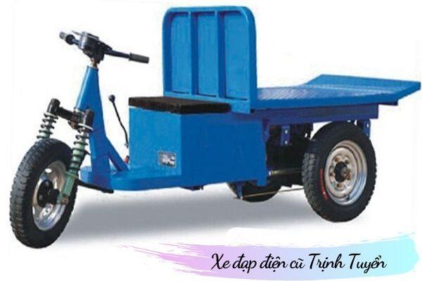Xe đạp điện 3 bánh chở hàng