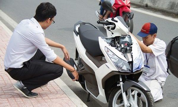 Cứu hộ xe máy Honda HCM