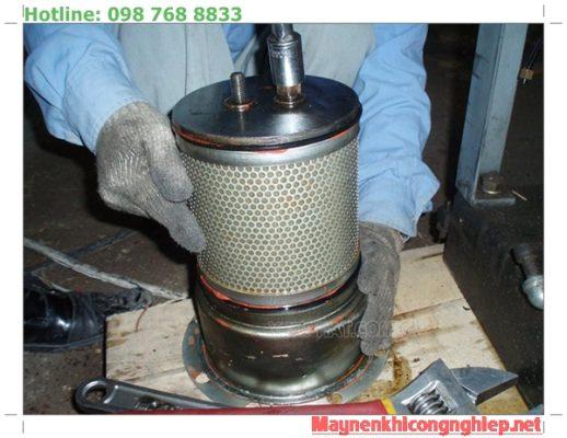 lọc tách dầu máy nén khí trục vít